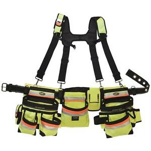 NEW Framer Rig Construction Suspender Strap Holster Pocket Pouch Bag Tool Belt