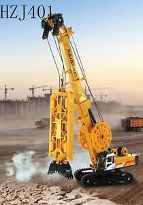 KDW Diecast XG450D? Trenching Machine Construction Equipment crane style[ORANGE]