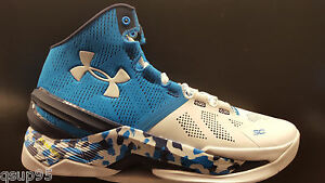 Under Armour Stephen Curry 2 Two Haight Street Blue Navy White 1259007-428 New