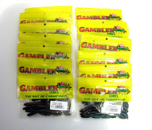 Gambler lures Lot of 8 packs Flappy Daddy & 6 packs of Ugly Otter 14 Packs total