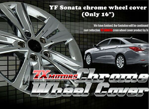 New Chrome Wheel skin Cover  16 inch  For  Hyundai YF Sonata ;i45 (2009 ~ 2013)