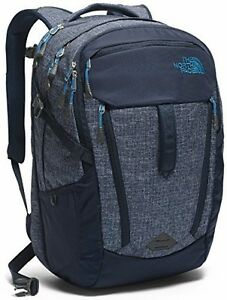 The North Face Surge Backpack Urban Navy HeatherBanff Blue Size One Size