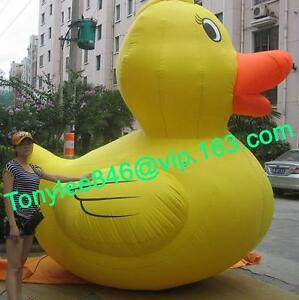 Advertising Inflatable DUCK balloon with customs logoblower 10ft on event