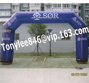 Advertising Inflatable ARCH balloon with blower 20fton outdoor event display
