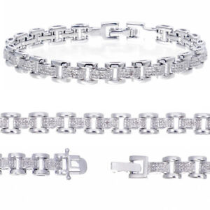 Genuine Diamond Bracelet (0.12 cttw) 7 Inches Length + Over 2000 Pcs Sold