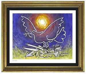 Pablo Picasso Signed Hand Numbered Ltd Ed quot;Dove of Peacequot; Litho Print unframed $89.99