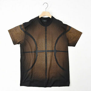 NEW GIVENCHY Loose Fit T-Shirt Basketball Motif Short SleeveCotton 100% SizeS