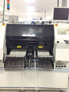 Universal GSM-X Pick and Place Machine with FlexJet 7 Head