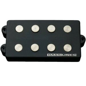 Seymour Duncan SMB-4d Hot Ceramic Replacement Humbucker for Music Man Basses