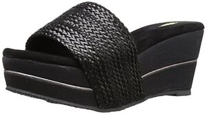 Women's Volatile Weaved Wedge Sandal - THREE COLORS AVAILABLE - HOT ITEM!