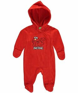 Sesame Street Baby Boys Awesome Play Hooded Pram Suit 6 9 $5.99