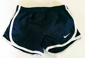 New Nike dry-fit girl kids clothes size 4 black sport shorts football basketball
