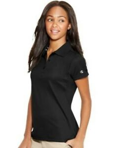 Champion Women's Double Dry Ultimate Polo Shirt - 11 COLORS - XS-2XL