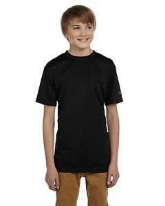 NEW Champion Workout Shirt Youth 4 oz Double Dry Performance Fitness CW24