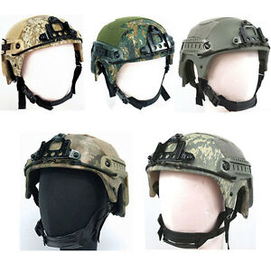Military FAST Combat Helmet Tactical Gear Airsoft Paintball SWAT Safety Protect