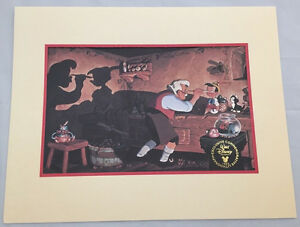 PINOCCHIO Exclusive 1993 Commemoratie Lithograph - Walt Disney Masterpiece - Z06 $15.99