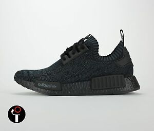 ADIDAS NMD PK  7.5 PITCH BLACK S80489. 1500. 100% AUTHENTIC!