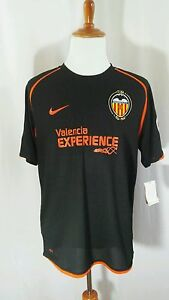 NWT FIT DRY NIKE Mens Black Jersey Shirt  Valencia EXPERIENCE (1943-1944) Sz XL