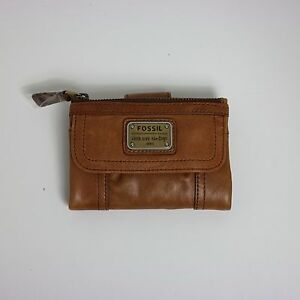 Fossil Women's Emory Multifunction Saddle Leather Wallet SL2932216