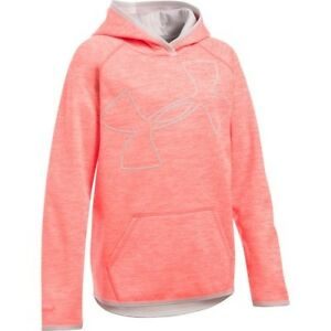 Under Armour Girls Big Logo Hoodie 1284879