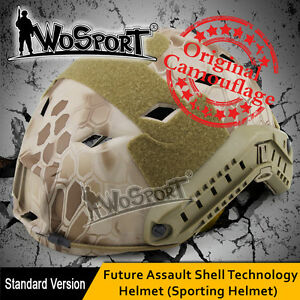 Military Hunting Camo Wargame CS Combat EMERSON Tactical Fast Base Jump Helmet