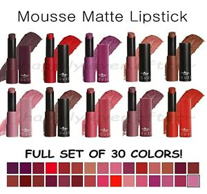 All 24 PCs! Italia Matte Lipstick Set - Ultra Smooth Long Lasting *US Seller*