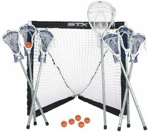New Six Field Player Sticks With Seven Player Outdoor Game Set Sporting Goods