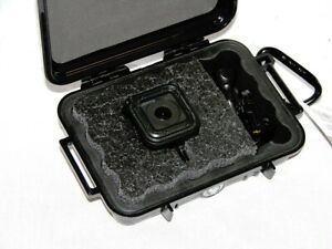 Pelican ™1020 Black case fits GoPro Hero5 4 Session Black Edition Free nameplate