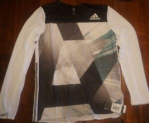 New Men's Adidas Sport Tee T-shirt Dry Fit Workout Out Running Gym Athletic Wear