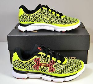 NWT BOYS YOUTH UNDER ARMOUR BGS CLUTCHFIT REBELSPEED RUNNING SHOES SZ 11C-7Y