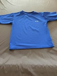 Champion Dri Fit Dry Fit Youth Size Small Royal Blue shirt short sleeve