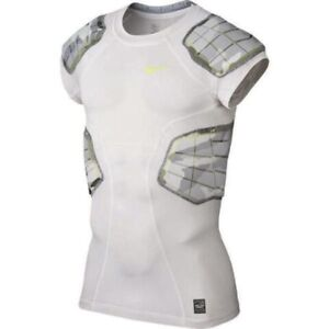 NIKE Pro Combat Hyperstrong 3.0 Compression Camo 4 Pad Football Shirt NEW Mens L