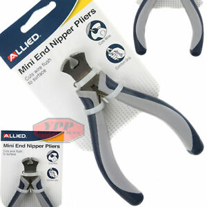 Mini End Cutting Pliers Nippers 4quot; Electrical Wire Cutter Jewelry Tool Allied