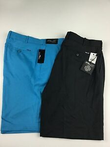 Ralph Lauren golf shorts RLX black blue Polo new tags 34 38 40 Cypress