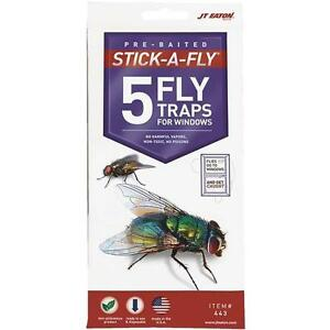 JT Eaton Stick-A-Fly Fly Trap For Windows (24 Packs)