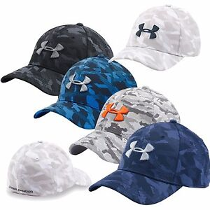 Under Armour Men's Printed Blitzing Stretch Fit Cap 1273197