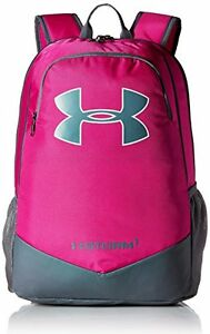 Under Armour Backpack Girls Pink UA Storm Scrimmage Polyester Laptop Kids School