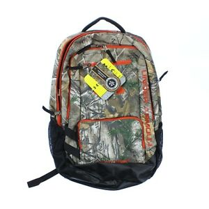 Under Armour 0119 Athletic Unisex Camo Hustle Backpack Sports Realtree AP-Xtra
