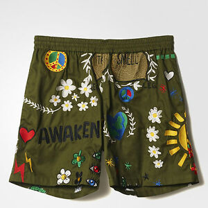 Adidas Consortium X Pharrell Williams Embroidered Men's Shorts AP0013