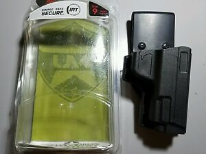 UNCLE MIKE'S Reflex Competition Holster Size 9 Black Right Hand