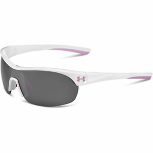 Under Armour Sunglasses Marbella Sny WhtPnk Frm Gry Mf Lens 8600066105701