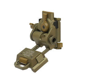 Tactical Airsoft FMA L4 G24 NVG Mount CNC for Fast OPS PJ MH BJ Mich Helmet