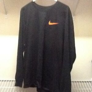 Nike x Vlone Complexcon Black and Orange Long Sleeve Tee Size Large rare limited