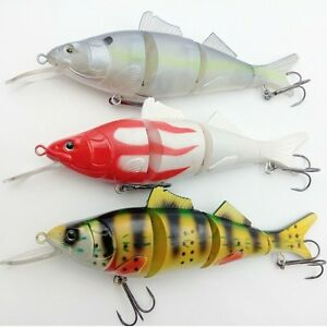 22CM Look Alive Big Game Fishing Lures Crank Baits Spinner Bait Saltwater Tackle
