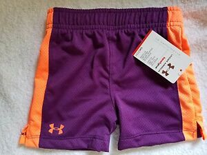 NEW Under Armour UA Performance Girls Shorts Size 12M Toddler NWT