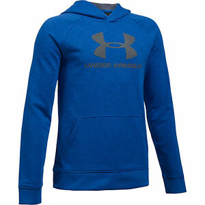 Under Armour Boys' sportstyle hoody Ultra Blue 1291600-908
