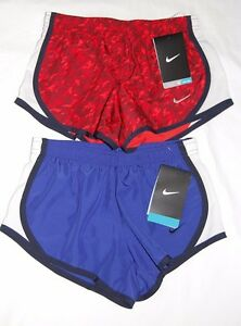 NWT Lot of 2 pairs Nike Girls Tempo running shorts Size XS  - Free Shipping -