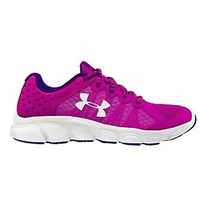 Under Armour Kids Girls UA GPS Assert 6 Little Kid Lunar PinkWhiteWhite 11 Kid