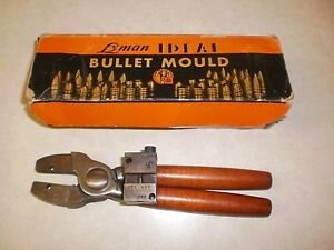 LYMAN IDEAL BULLET MOLD HANDLES AND ONE  MOLD
