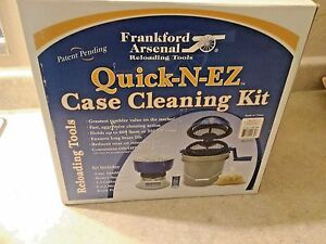 NEW Frankford Quick-N-EZ Arsenal Case Cleaning TumblerMedia Separation Kit
